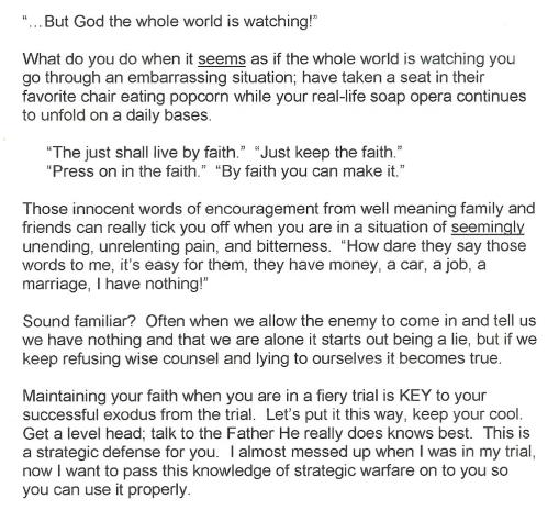 Faith Study Guide Excerpt